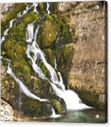 Savica Waterfall Acrylic Print