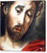 Savior Acrylic Print by Caprice Scott