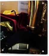 Sax In Repose Acrylic Print