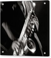 Sax Man 1 Acrylic Print