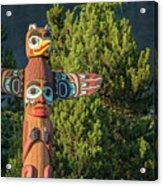 Saxman Totem Acrylic Print