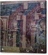 Saxon Medieval Frescoes, Transylvania Acrylic Print