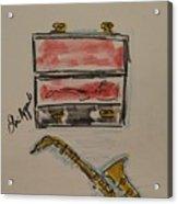 Saxophone Acrylic Print