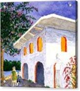 Sayilita Casa Acrylic Print