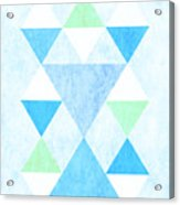 Scandi Blue Acrylic Print