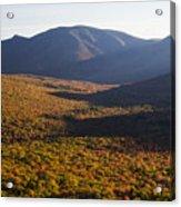 Scar Ridge Autumn Acrylic Print