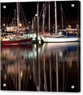 Scarborough Boats Acrylic Print