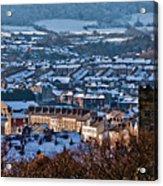 Scarborough Town Acrylic Print