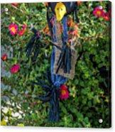 Scare Bird Acrylic Print