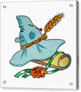 Scarecrow Hat From Wizard Of Oz Acrylic Print