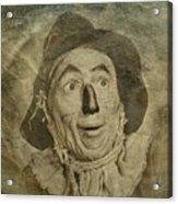Scarecrow Acrylic Print