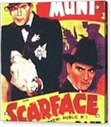 Scarface 1932 French Revival Unknown Date Acrylic Print