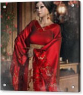 Scarlet Empress Acrylic Print