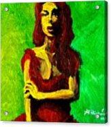 Scarlet Acrylic Print