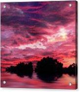 Scarlet Skies Acrylic Print