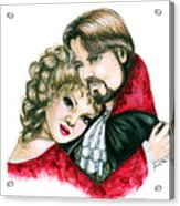Scarlett And Nick Acrylic Print