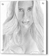 Scarlett Johannson Acrylic Print