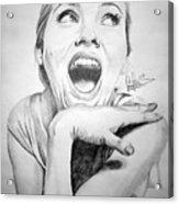 Scarlett Johansson Acrylic Print