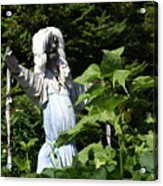 Scary Scarecrow Acrylic Print