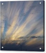 Scattered Sky Acrylic Print