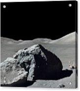 Scene From Apollo 17 Extravehicular Acrylic Print