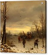 Scene From The Thirty Years War Acrylic Print