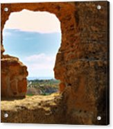 Scene Through Antiquity Acrylic Print
