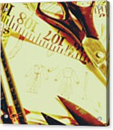 Scenes From A Seamstress Acrylic Print