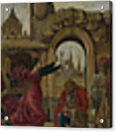 Scenes From The Life Of Saint Vincent Ferrer Acrylic Print