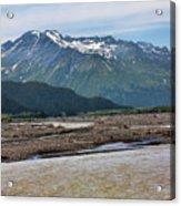 Scenic Alaska Color  Acrylic Print