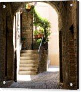 Scenic Archway Acrylic Print