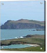 Scenic Blasket Islands As Seen From Slea Head Penninsula Acrylic Print