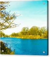 Scenic Branch Brook Park Acrylic Print