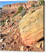 Scenic Drive Boulder View Acrylic Print