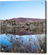 Scenic Lake On The Kancamangus Acrylic Print