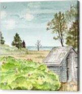 Scenic Maine   Acrylic Print
