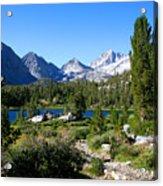 Scenic Mountain View Acrylic Print