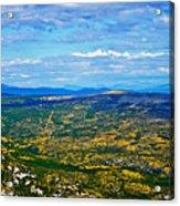 Scenic Road To Zagreb Acrylic Print
