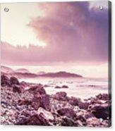 Scenic Seaside Sunrise Acrylic Print