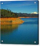 Scenic Shasta Lake Acrylic Print