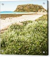 Scenic Stony Seashore Acrylic Print
