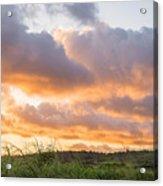 Scenic Sunset In Poipu, Kauai Island Acrylic Print