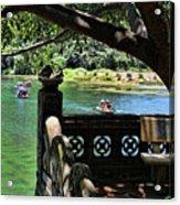 Scenic Tam Coc Boat Tour Acrylic Print