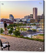 Scenic View From Federal Hill Acrylic Print