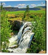 Scenic White River Falls Acrylic Print