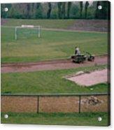 Schalke 04 - Glueckauf-kampfbahn - East Side - April 1997 Acrylic Print