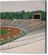 Schalke 04 - Parkstadion - North Goal Stand 1 - April 1997 Acrylic Print