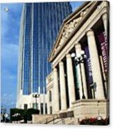Schermerhorn Symphony Center Nashville Acrylic Print