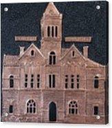 Schley County, Georgia Courthouse Acrylic Print