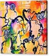 Schlieren Chiarascuro Acrylic Print